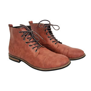 Cosidram Fashion Lace-up Ankle Boots Size 46